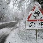 скользкая дорога зимой